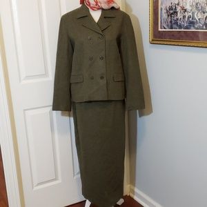 VTG Lauren Ralph Lauren Black Label Wool Suit EUC